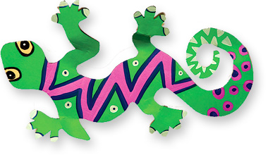 green gecko craft