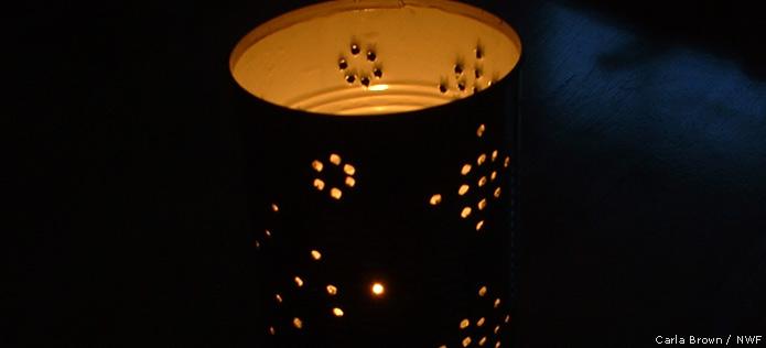 luminaria lit