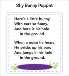 shy bunny poem