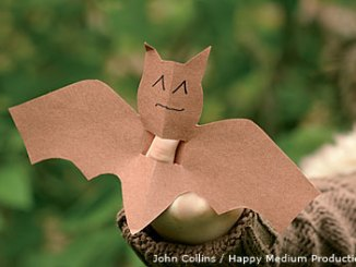 bat finger puppet 2