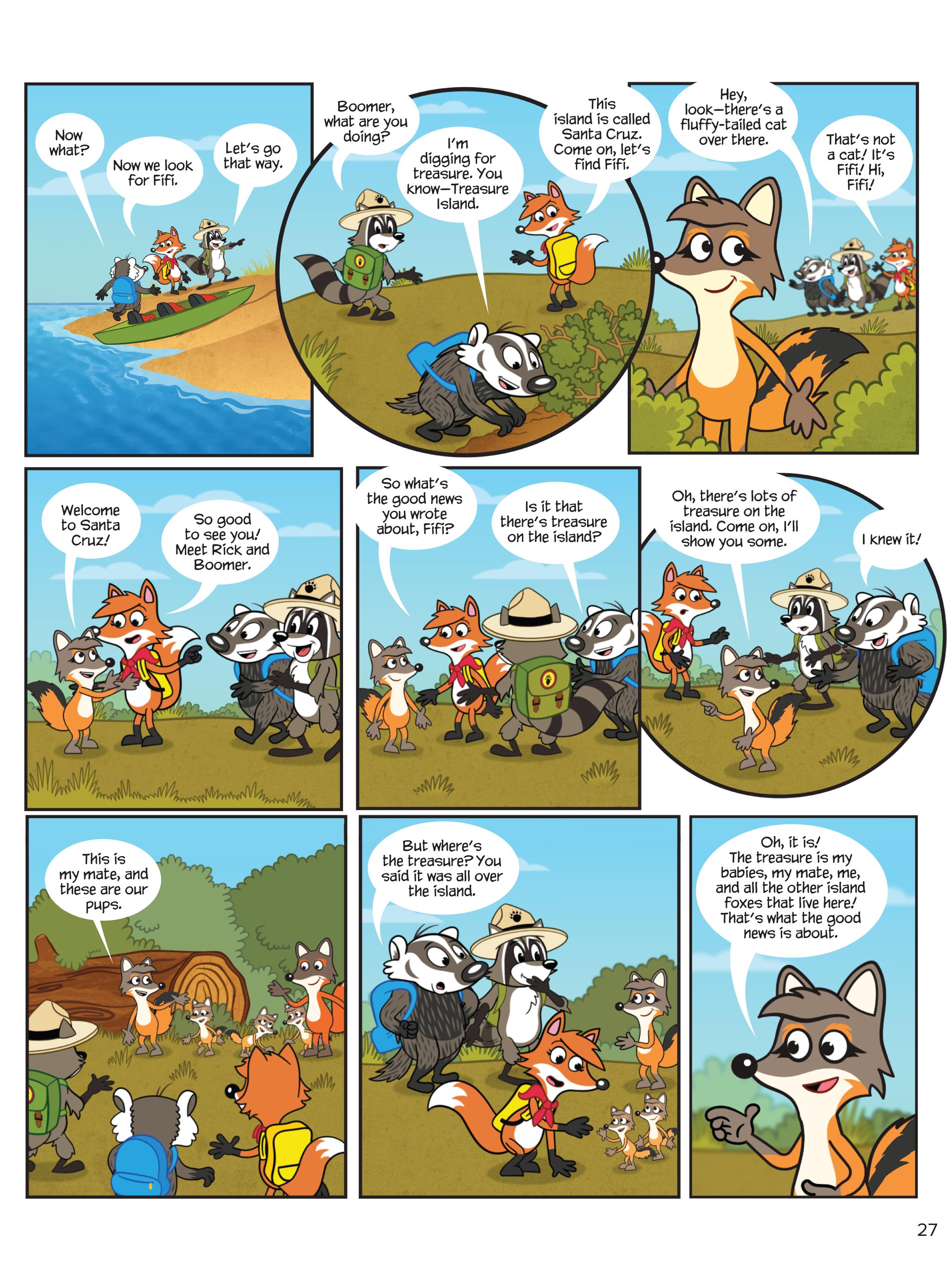 Treasure Island - NWF   Ranger Rick