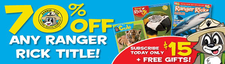 Ranger Rick magazines