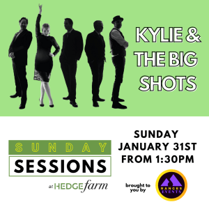 Kylie & The Big Shots at Sunday Sessions