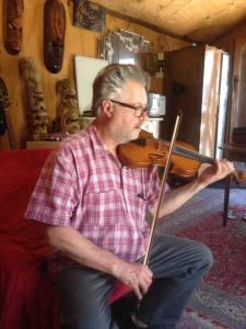 Violinist Henry Vyhnal