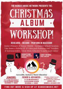 2019 Christmas Album Workshop!