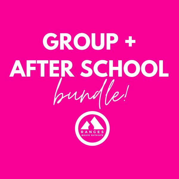 Bundle & Save - get a Group Lesson + an After School Ensemble