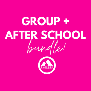 Bundle & Save - get a Group Lesson + an After School Ensemble