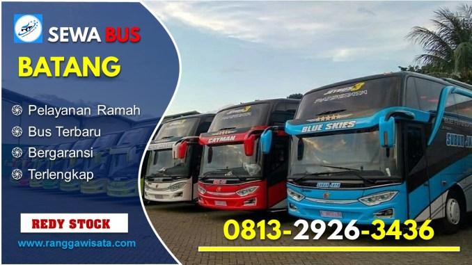 Daftar Harga Sewa Bus Pariwisata Batang