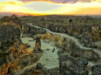Wisata Grobogan White Canyon