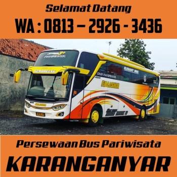 Sewa Bus Pariwisata Karanganyar