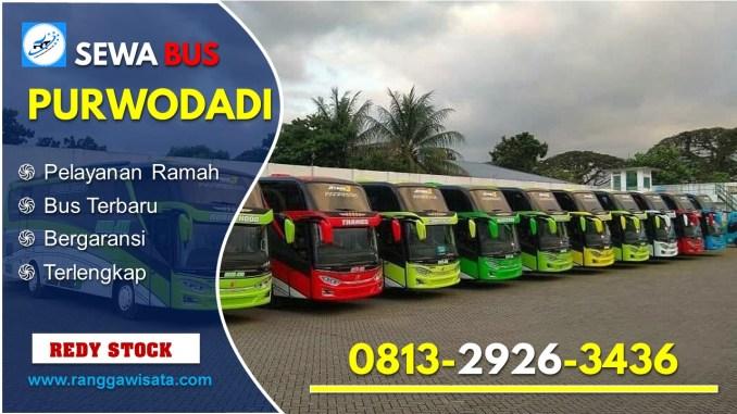 Daftar Harga Sewa Bus Pariwisata Purwodadi