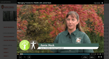 Learning from experts like Jamie Nack, Senior Wildlife Outreach Specialist at UW Madison