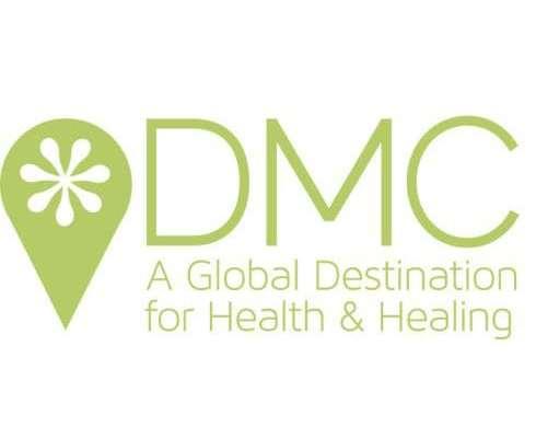 logo for DMC - A Global Destination for Health and Healing
