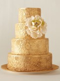 I love this gorgeous embossed cake that looks like a jacquard sari - by Deborah Lauren of City Sweets in NYC