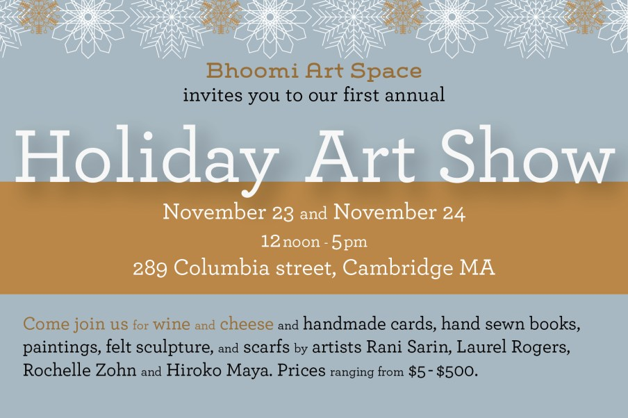 Bhoomi Holiday Card