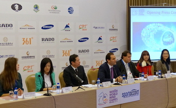 Opening Press Conference at the 2014 SAWMG