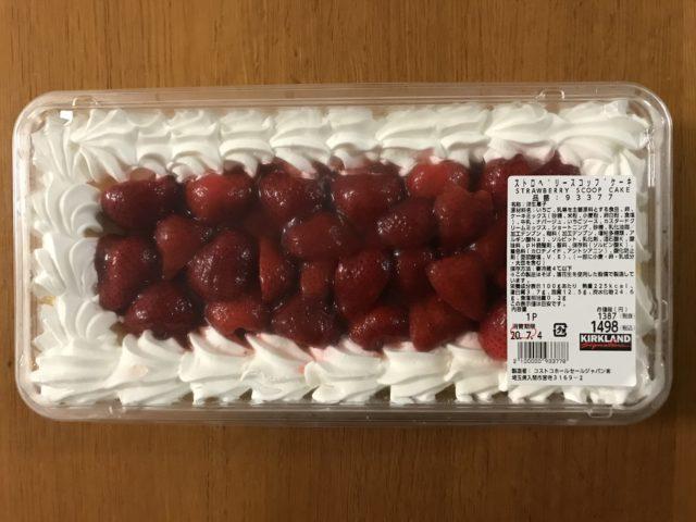 コストコ ストロベリースコップケーキ