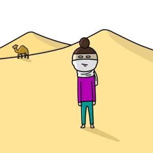 ホットプレートを探しに旅に出たのはいいが、3年たっても戻ってこない・・・サハラ砂漠まで来てしまった人