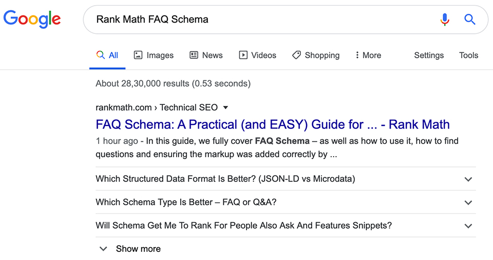 Cara Membuat FAQ Schema Markup Di Wordpress 1