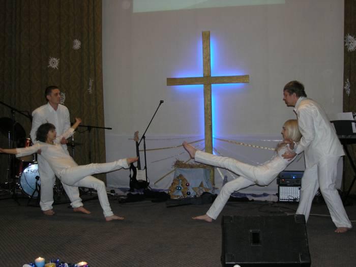 Танцевальное служение (Рождество 2012)