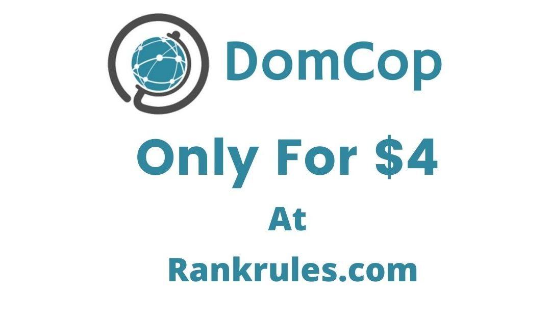 Domcop Review expired domain finder