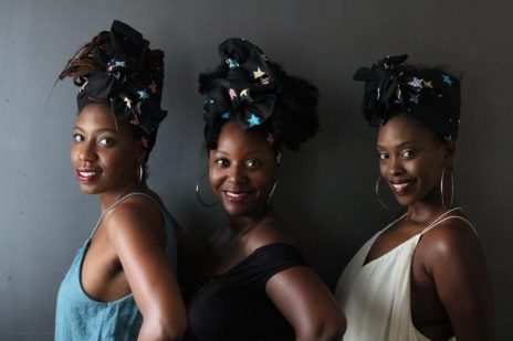 unique spin on a centuries old tradition: the head wrap