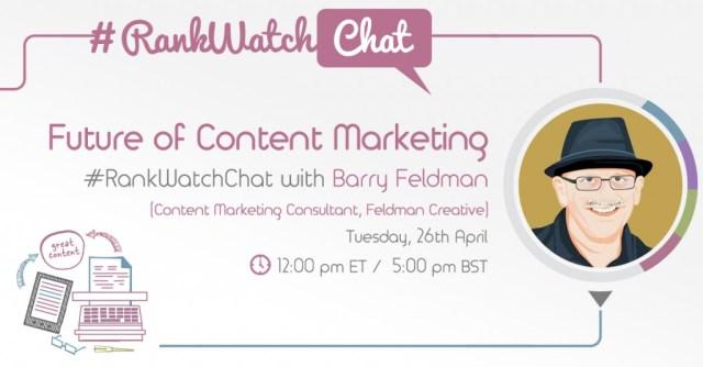 RankWatch-Twitter-Chat-with-Barry-Feldman