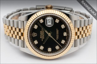 ROLEX Datejust 41 Jubilee Diamonds ref. 126333