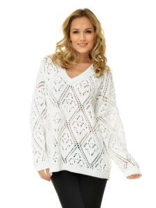 Bespoke manufactured ladies knitwear