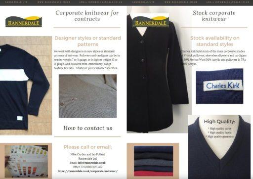 Knitwear for Corporatewear Workwear and Uniform