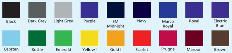 Charles Kirk Colour+ sweatshirt stock shades