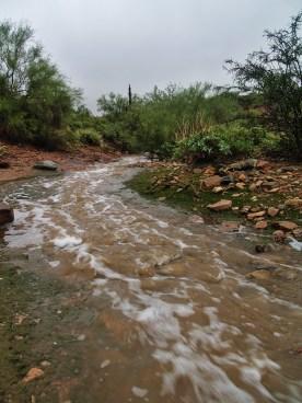 Dam downstream
