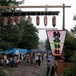 輪西神社のお祭りに行ってきました