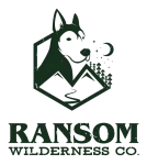 Ransom Wilderness Co dark logo