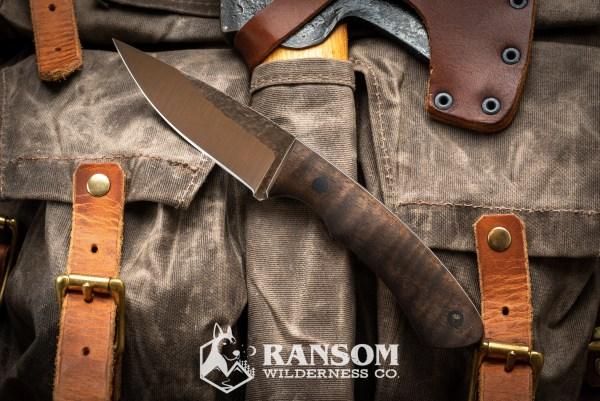 Osprey Knife and Tool Mamushi in bastogne walnut