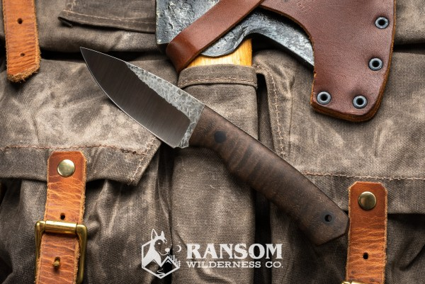 Osprey Knife and Tool Warthog with bastogne walnut