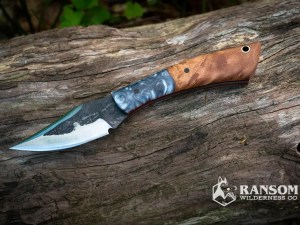 Brush Creek Little Creek Handmade Knife available at Ransom Wilderness Co