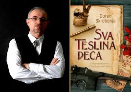 Goran Skrobonja and cover page All Tesla's Children