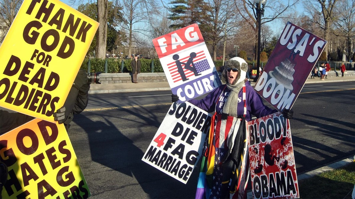 Let's Talk About Religion Then: The Westboro Baptist Wannabe Martyrs