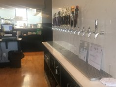 The new bar features 16 taps.