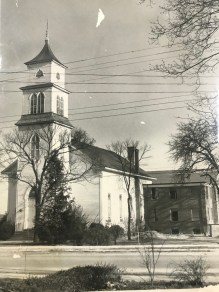 The old Jonesboro Methodist Church, now demolished.