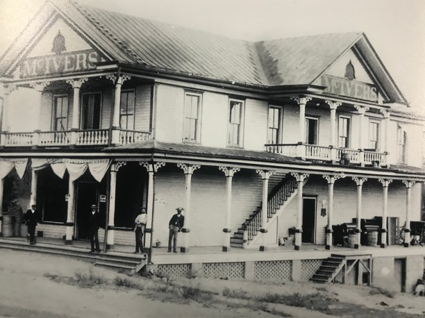 An early image of the McIvers Store
