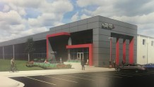 An artist's rendering of the facility after upfit by Audentes