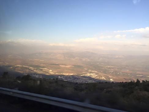 Driving to Lebanon