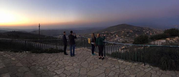 Overlooking the Lebanese Border