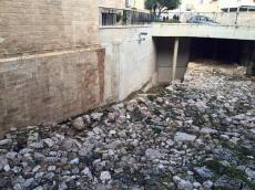 Excavations in the Old City, consistent with Biblical descriptions.