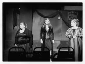 """with Randi Sobol and Rachel Handler in """"Richard III"""""""