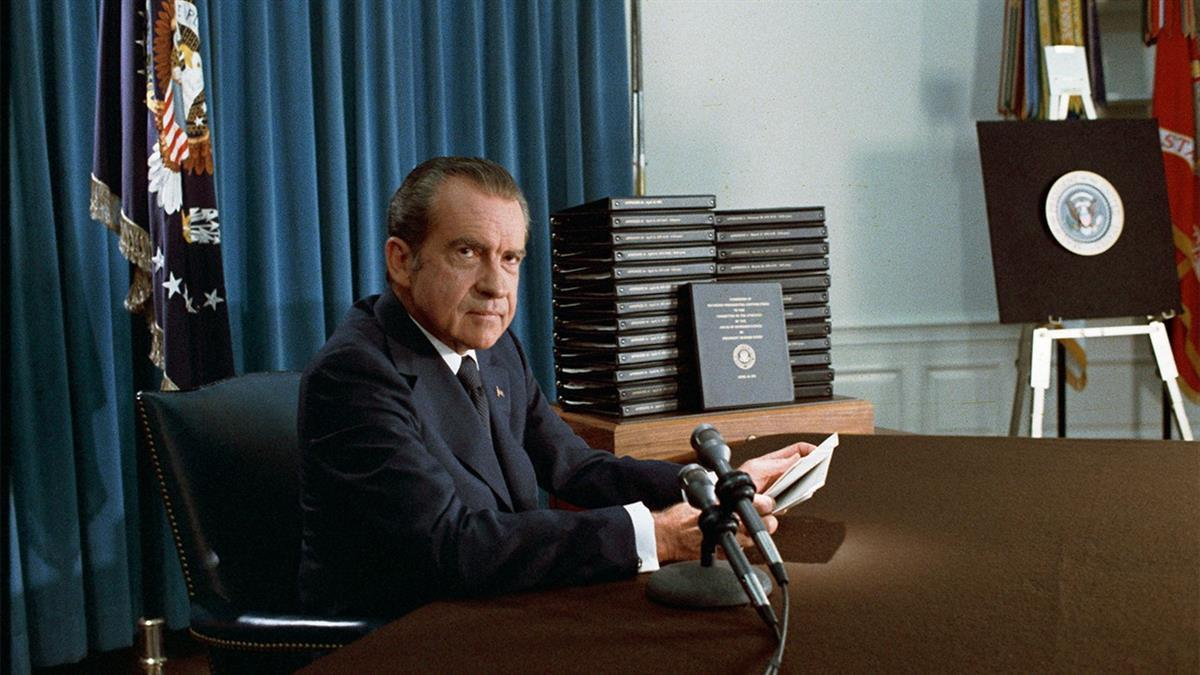 Image result for key ruling during the watergate scandal to turn over white house tapes