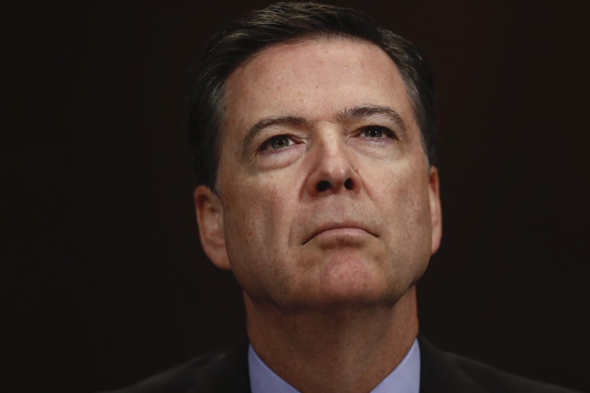 Former FBI Director James Comey (AP Photo/Carolyn Kaster)