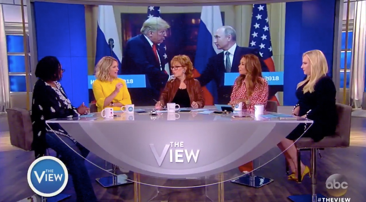 The Co-Hosts of 'The View' blast Trump for his shameful display in Helsinki